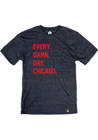 Chicago Navy Every Damn Day Short Sleeve T Shirt