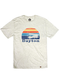 Dayton Oatmeal Sunset Plane Short Sleeve T Shirt