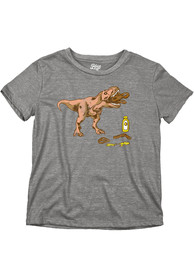 Philadelphia Youth Grey T-Rex Pretzel Short Sleeve T-Shirt