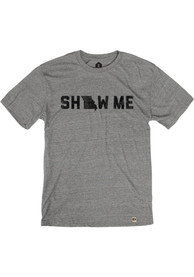 Missouri Grey Show Me Short Sleeve T Shirt