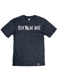 Missouri Navy Show Me Short Sleeve T Shirt