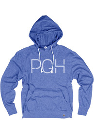 Pittsburgh Royal PGH Long Sleeve T-Shirt Hood