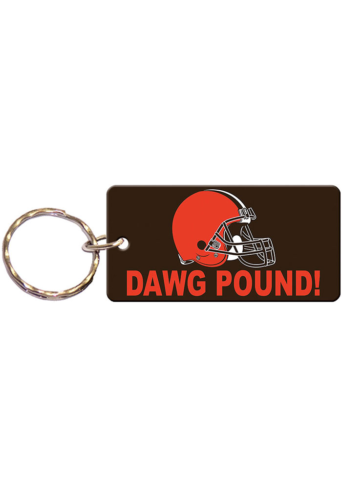 Cleveland Browns Dawg Pound Keychain - Image 1