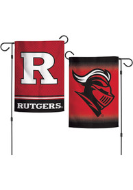 Rutgers Scarlet Knights 12x18 inch 2-Sided Garden Flag
