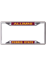 Ferris State Bulldogs Alumni License Frame
