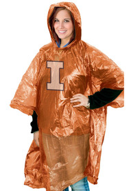 Illinois Fighting Illini lightweight poncho Poncho