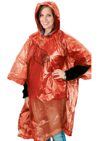 Louisville Cardinals lightweight poncho Poncho
