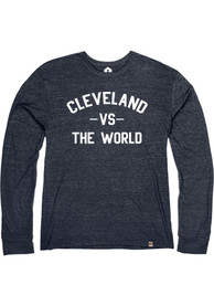 Cleveland Navy VS The World Long Sleeve T Shirt