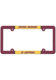 Central Michigan Chippewas Full Color License Frame
