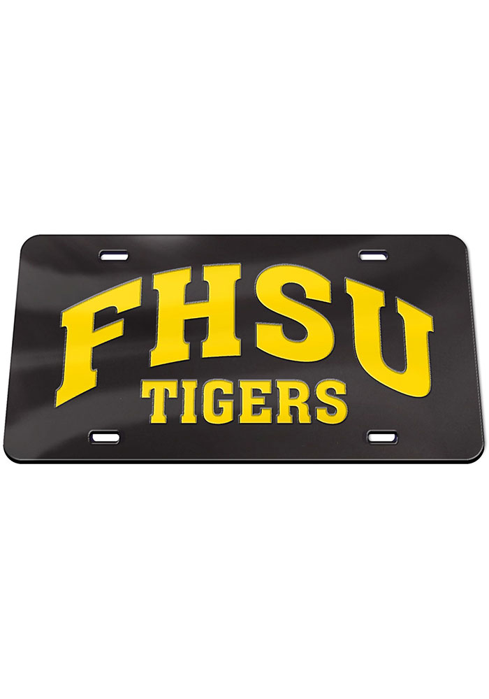 Fort Hays State Tigers Mascot Car Accessory License Plate