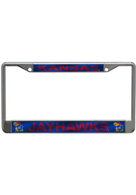 Kansas Jayhawks Printed License Frame