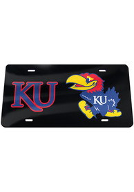 Kansas Jayhawks KU Jayhawk Car Accessory License Plate
