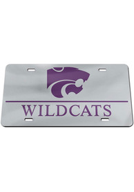 K-State Wildcats Mascot Wordmark Car Accessory License Plate