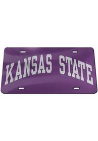 K-State Wildcats Wordmark Car Accessory License Plate