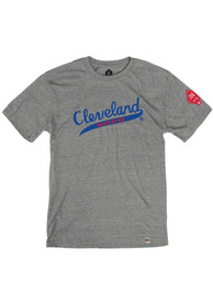 Cleveland Buckeyes Rally Tailsweep Fashion T Shirt - Grey