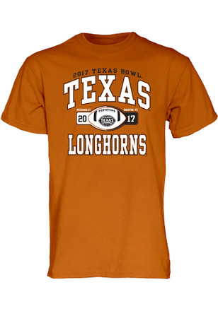 Texas Longhorns Mens Orange Tailslide Tee