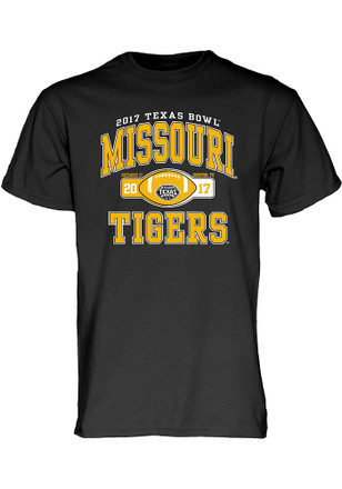 Missouri Tigers Mens Black Tailslide Tee