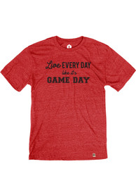 Rally Red Live Like Gameday Short Sleeve T Shirt