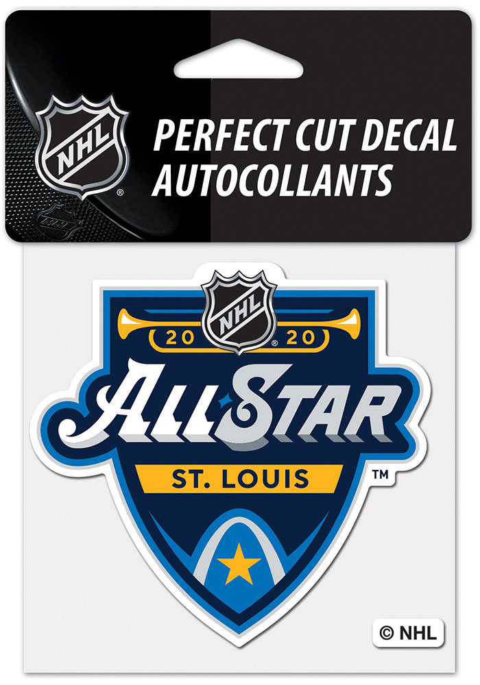 St Louis Blues 2020 All Star Game Auto Decal - Blue - Image 1