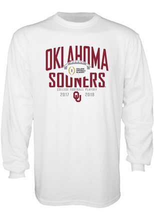 Oklahoma Sooners Mens White Eighty Six Tee