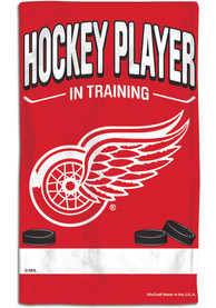 Detroit Red Wings Baby In Training Bib - Red
