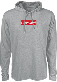 Cleveland Grey Workhorse Long Sleeve Light Weight Hood