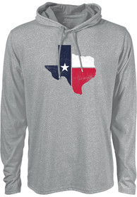 Texas Grey Workhorse Long Sleeve Light Weight Hood