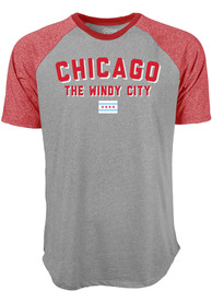 Chicago Grey Ringtone Short Sleeve T Shirt