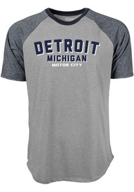 Detroit Grey Ringtone Short Sleeve T Shirt
