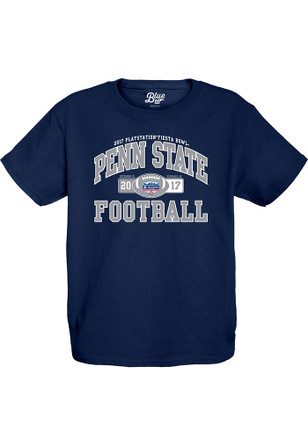 Penn State Nittany Lions Youth Navy Blue Tailside T-Shirt