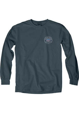 Penn State Nittany Lions Womens Cool Change Navy Blue LS Tee