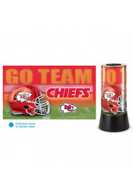 Kansas City Chiefs Rotating Table Lamp