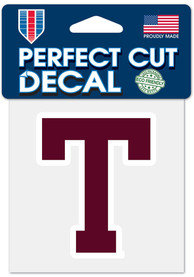 Texas A&M Aggies 4x4 Vault Auto Decal - Maroon
