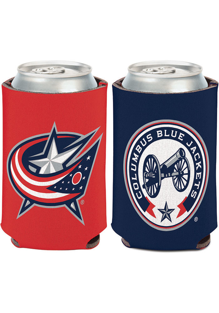 Columbus Blue Jackets 2-Sided Logo Koozie - Image 1