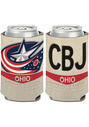 Columbus Blue Jackets 2-Sided State Plate Coolie