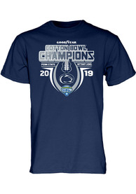 Penn State Nittany Lions Navy Blue 2019 Cotton Bowl Champions Tee