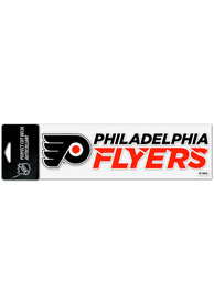 Philadelphia Flyers 3x10 Auto Decal - Orange