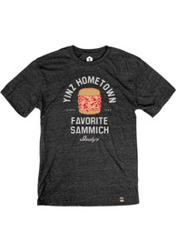 Isalys Yinz Fave Sammich SS Tee - Heather Black