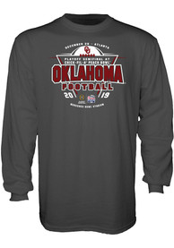 Oklahoma Sooners 2019 College Football Playoff Bound T Shirt - Charcoal