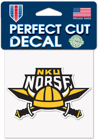 Northern Kentucky Norse 4x4 Auto Decal - Black