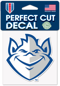 Saint Louis Billikens 4x4 Auto Decal - Blue