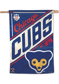 Chicago Cubs 28x40 Cooperstown Banner