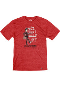 Gates Bar-B-Q Heather Red May I Help You Short Sleeve T Shirt