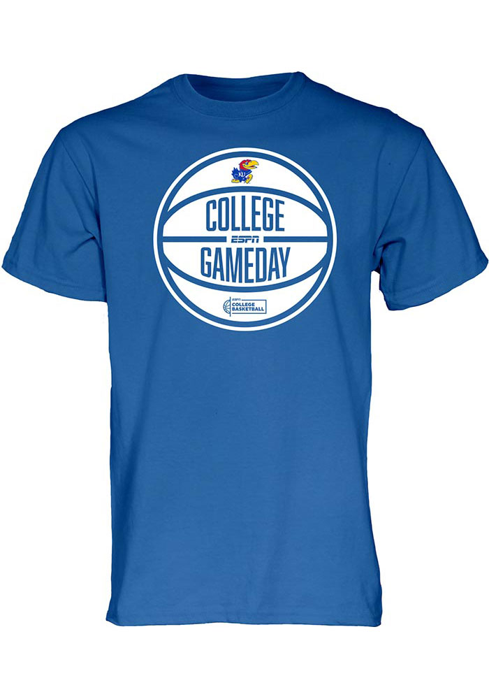 Kansas Jayhawks 2020 ESPN College Gameday T Shirt - Blue
