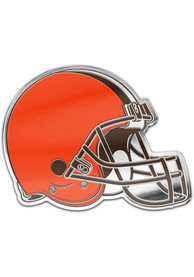 Cleveland Browns Auto Badge Car Emblem - Orange