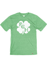 Pittsburgh Heather Green Shamrock Initials SS Tee