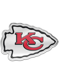 Kansas City Chiefs Auto Badge Car Emblem - Red