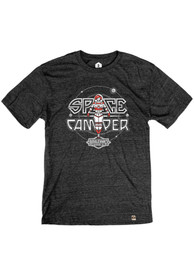 Boulevard Heather Black Space Camper Short Sleeve T Shirt
