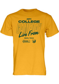 Baylor Bears Gold ESPN College Gameday Tee