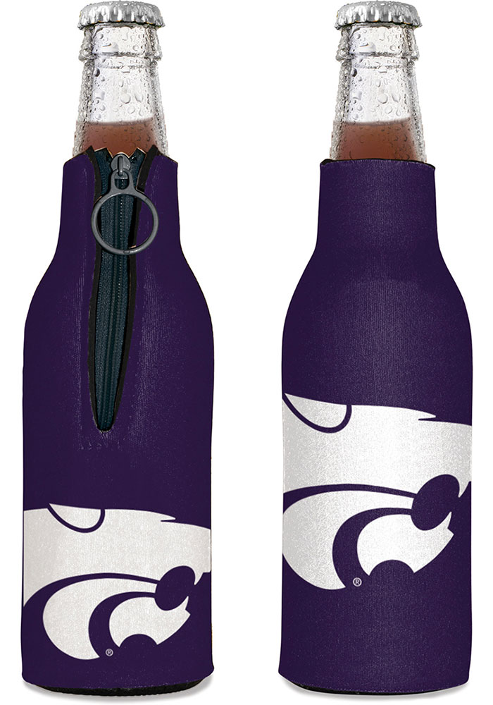 K-State Wildcats 12oz Bottle Coolie - Image 1